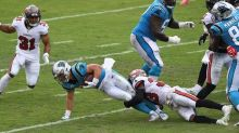 Panthers' McCaffrey out multiple weeks with ankle sprain
