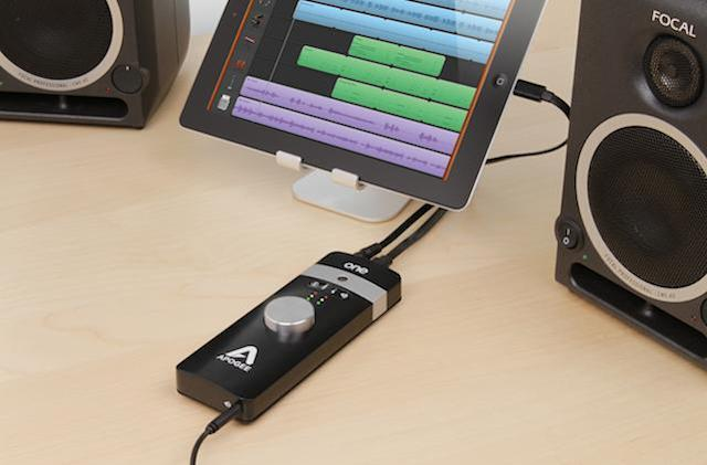 Apogee ONE: An audio interface and microphone for Mac and iOS