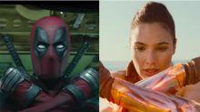 Deadpool le copia la pose a Wonder Woman ¡y a Gal Gadot no le gusta nada!