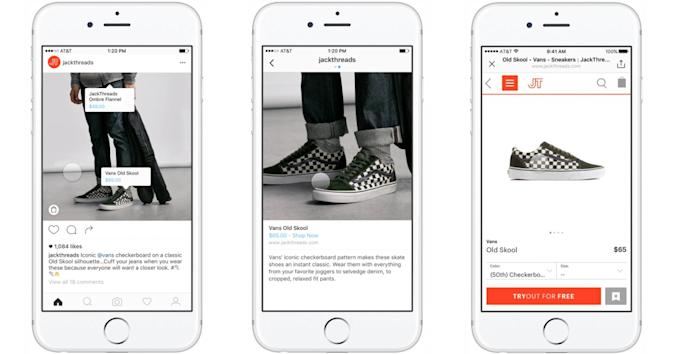 Instagram shopping tags help you buy what you see