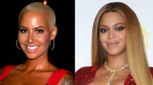 Amber Rose Trolls Beyoncé and Tyga, Then Claims She Got Hacked