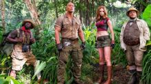 Dwayne Johnson Shows Off Crowd-Pleasing 'Jumanji' Footage at CinemaCon