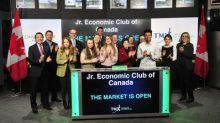Jr. Economic Club of Canada Opens the Market