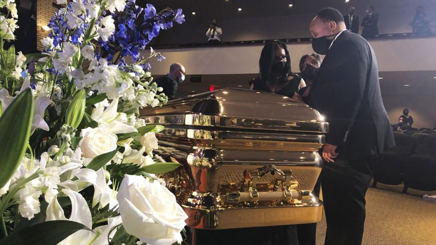 Watch: Memorial service for George Floyd