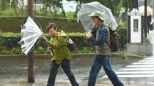 Two dead as typhoon slams into Japan after election day
