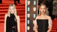 Margot Robbie leads the way in black at 2018 BAFTAs