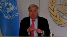 U.N. chief says COVID-19 is 'most challenging' crisis since World War II