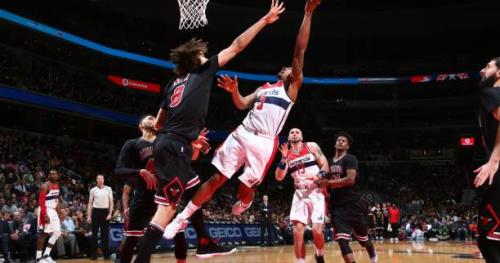 Basket - NBA - Les Washington Wizards ont tenu le coup contre Chicago