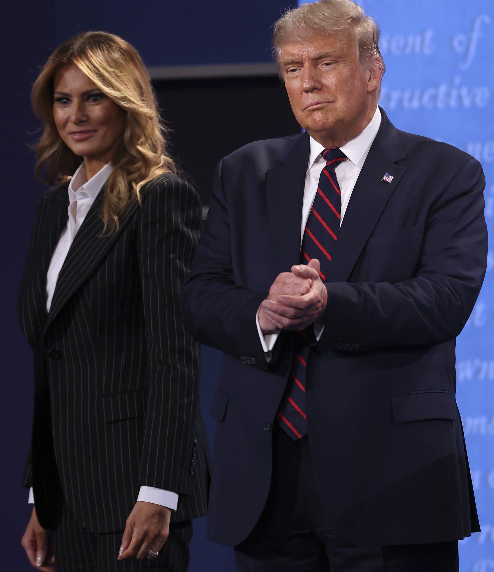 Donald Trump Sits Through Sermon on Humility, Embracing