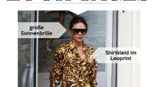 Look des Tages: Victoria Beckham im Leo-Look