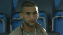 Chelsea transfers Timo Werner and Hakim Ziyech pictured in training with new team-mates at Cobham