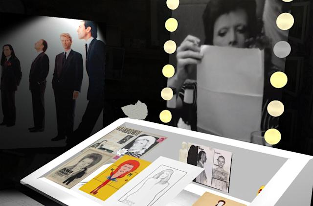'David Bowie Is' AR exhibit puts Ziggy Stardust on your phone