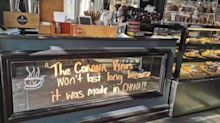 'It's Racism': Sydney Cafe's 'Made In China' Coronavirus Sign Sparks Outrage