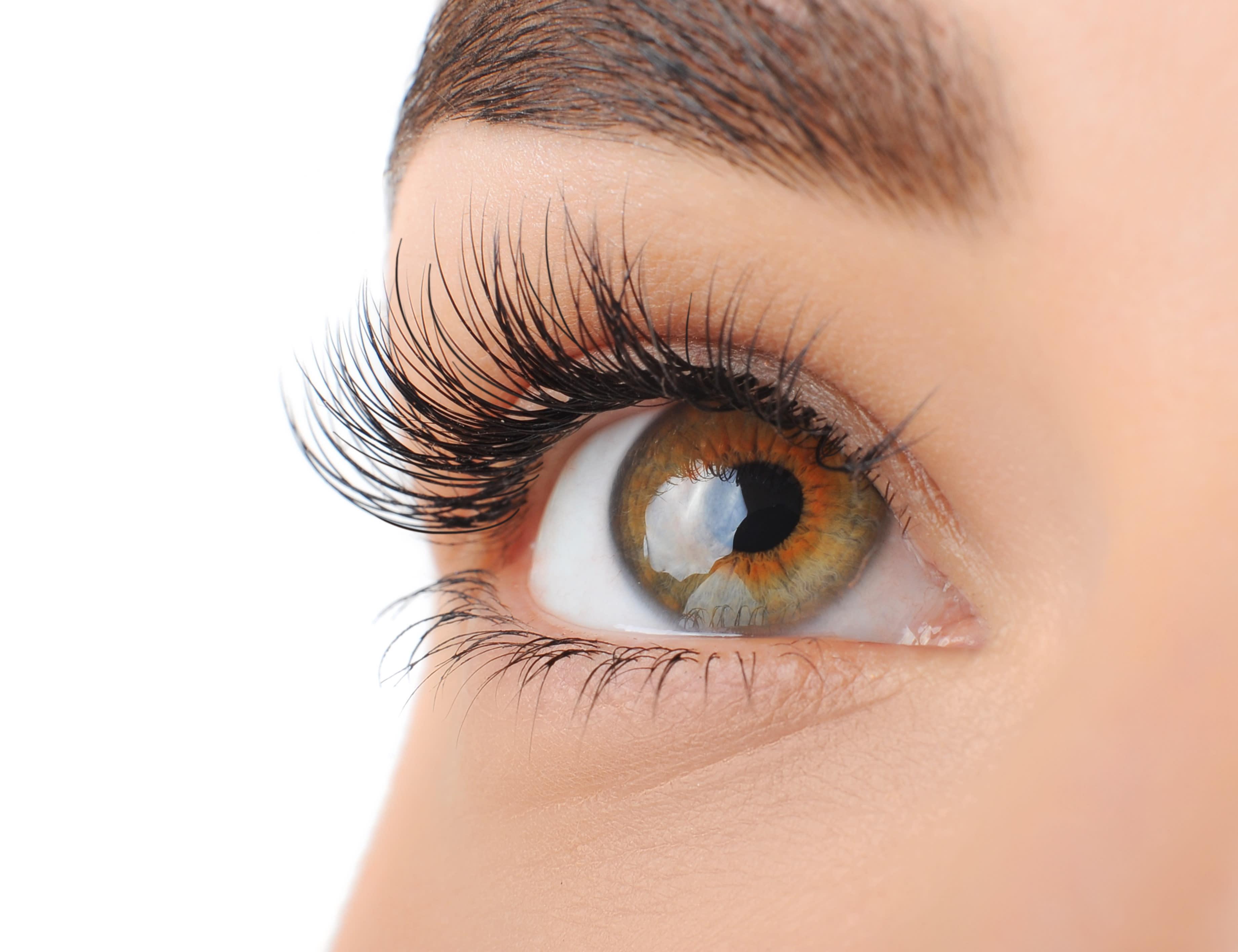 Grün-Braune Augen
