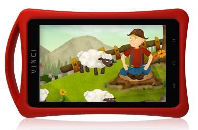 New child-friendly Vinci Tab II 'M' is smaller, lighter, cheaper