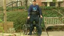 Robotic exoskeleton could help paraplegics walk again