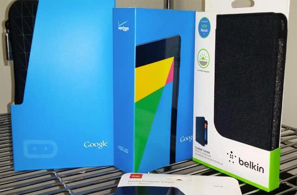 Verizon will offer Google's Nexus 7 tablet starting this Thursday