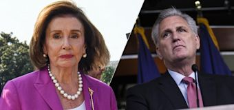 Pelosi calls McCarthy 'a moron' for mask comment