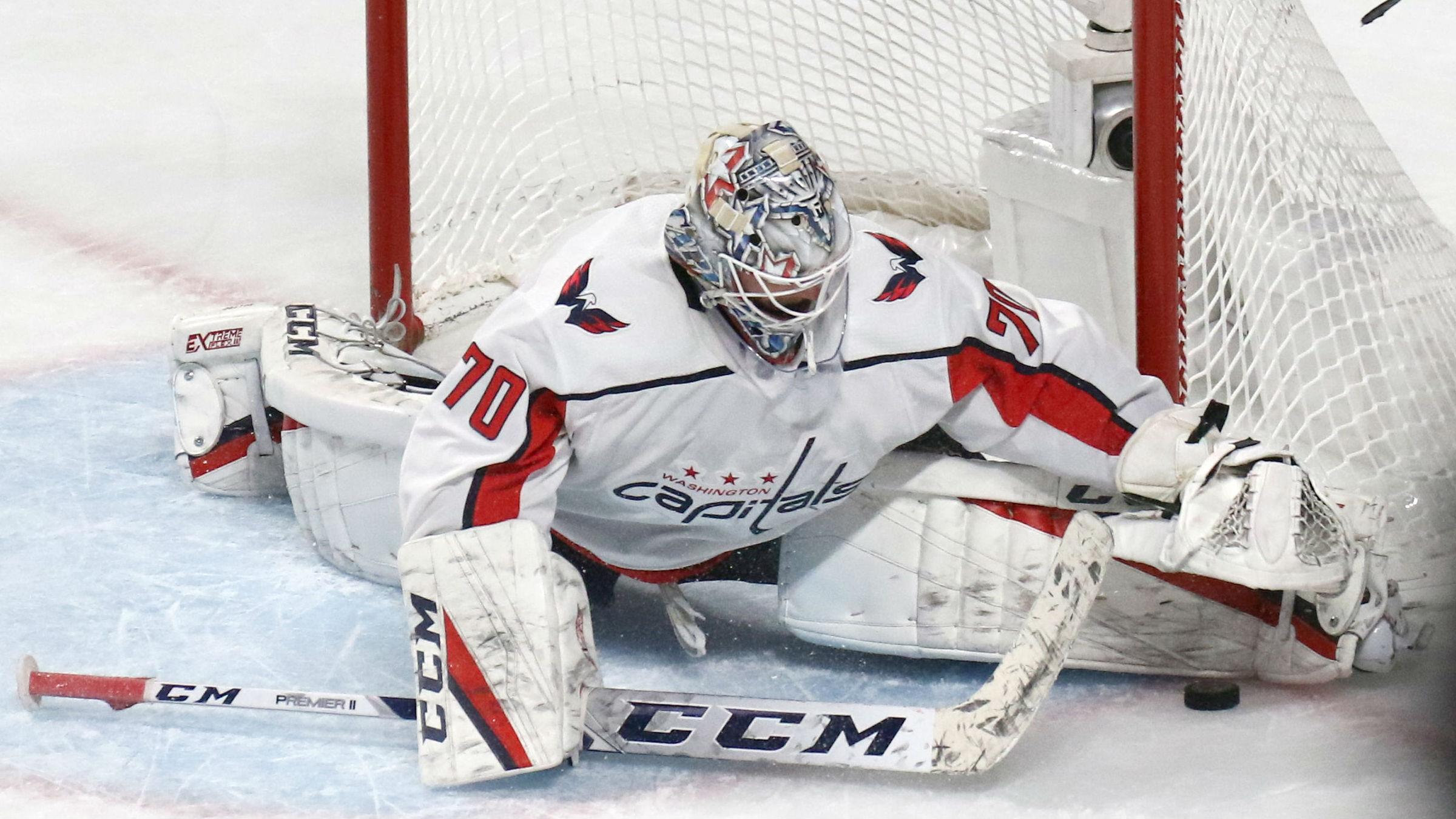 Braden Holtby S Heroics Not Enough To Stop The Oilers Overtime Rally