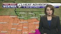 Temperatures Up Along With Rain Chance