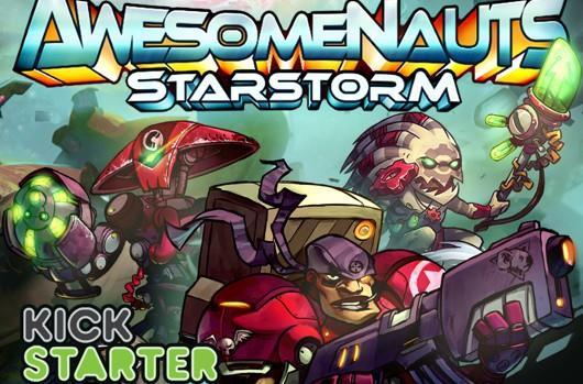 Awesomenauts expansion funded on Kickstarter
