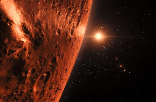 Hubble telescope spots evidence of water on Trappist-1 planets
