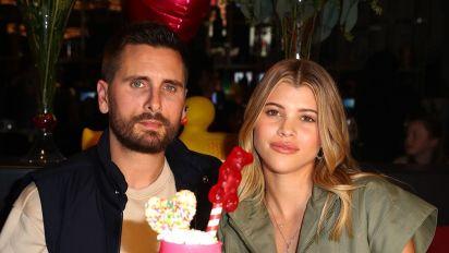 Scott Disick Celebrates 36th Birthday With Sofia Richie and the Kardashians