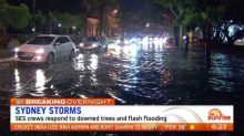 Sydney hit by wild storms