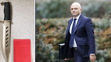 Sajid Javid's knife crime social media ban is 'practically impossible to implement' warns expert