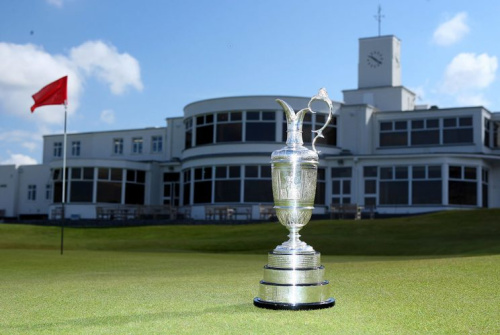 The clubhouse at Royal Birkdale. (Getty)
