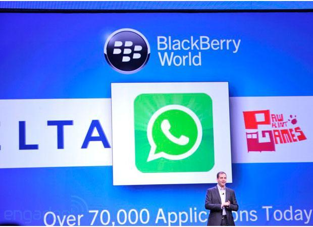WhatsApp comes to BlackBerry Q10, expands its BB10 footprint