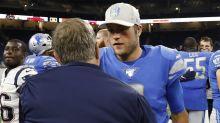 What does Patriots coach Bill Belichick think of Matthew Stafford?