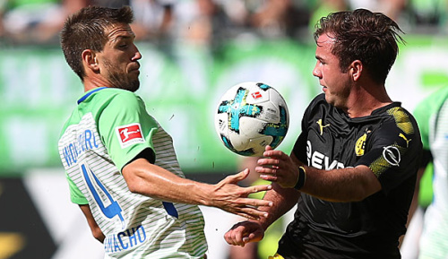 Bundesliga: Götzes Bundesliga-Comeback: Spaß bei der Arbeit