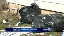 Investigators suspect co-sleeping in two infant deaths