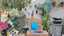 #MyHomeMyStyle: 'One thing you can't miss is our love for the colour blue in right doses and our love for plants.'
