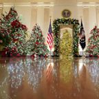 Melania Trump Attempts To Show She Cares About Christmas With 2020 Decor