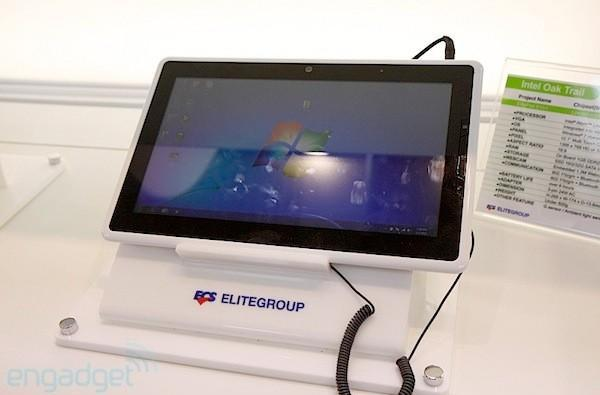 Elitegroup Elitepad S10 Windows tablet graces the FCC, could still use a makeover