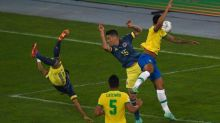 WATCH: Diaz's vicious overhead goal smashes Colombia ahead of Brazil