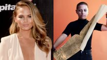 Chrissy Teigen has the perfect response to the fake Emma González 'Constitution' image
