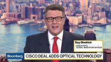 Cisco VP Diedrich on Acacia Deal, 5G, U.S.-China Spat