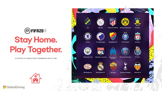 EA FIFA 20 Stay and Play Cup