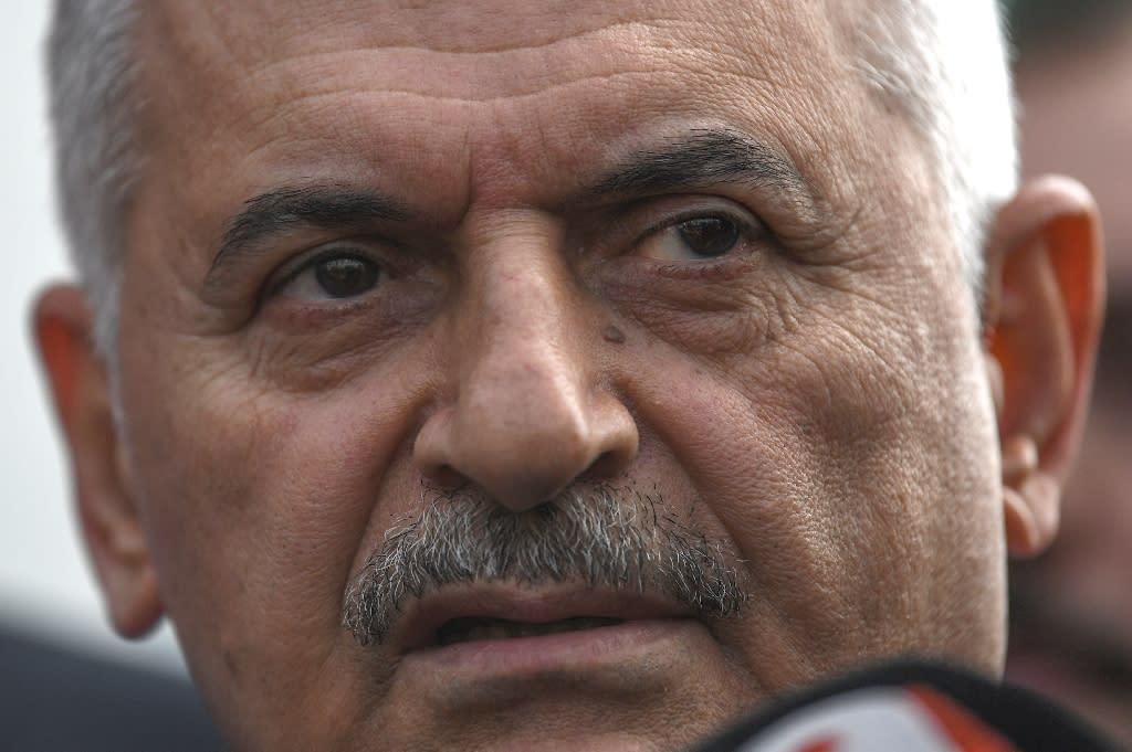Binali Yildirim was a founding member of President Recep Tayyip Erdogan's AKP party (AFP Photo/OZAN KOSE)