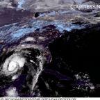 Zeta weakens to a tropical storm