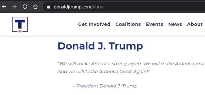 DonaldJTrump.com