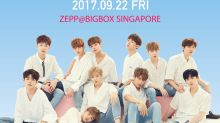 K-pop group Wanna One's fan meeting in Singapore almost sold out