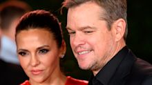 Awwww! Matt Damon's nine-year-old fell asleep (twice) watching 'Ford v Ferrari' drama