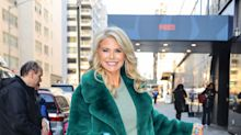 'Absolutely fabulous!': Christie Brinkley turns heads in leather pants and $1,650 faux-fur coat