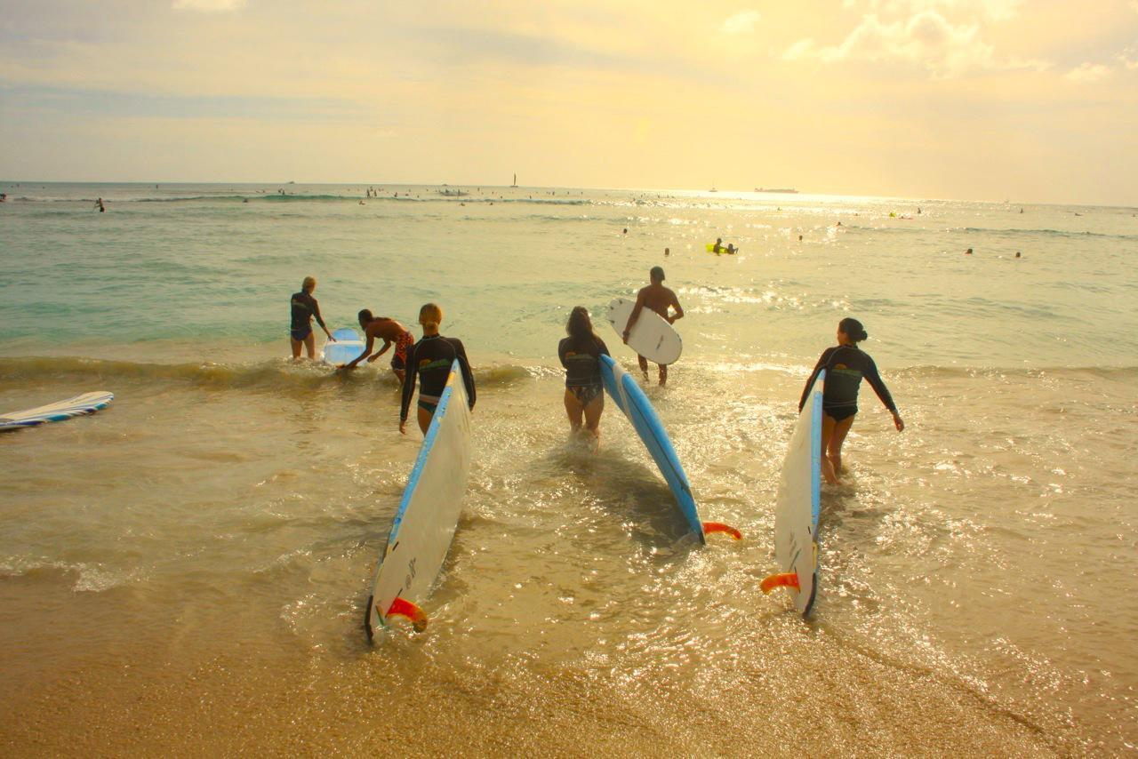 The 5 best places to learn how to surf - Rapture Surfcamps
