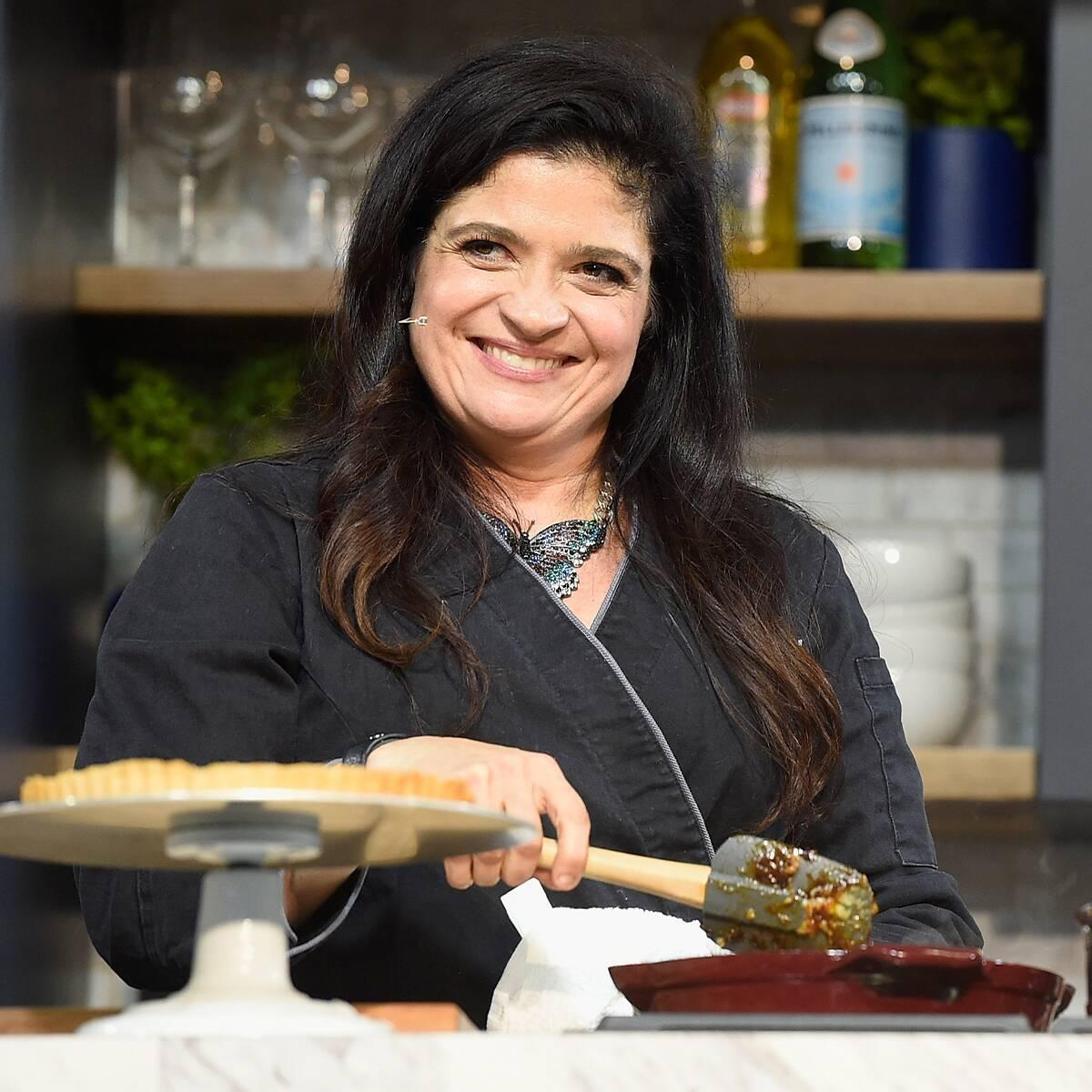 Why Food Network's Alex Guarnaschelli Is On a Mission to Help Single Moms