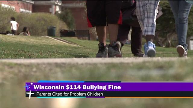 WI fines parents for bully kids